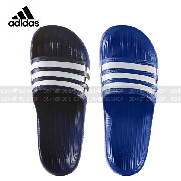ADIDAS愛迪達運動拖鞋G14309寶藍G15892深藍Duramo Slide