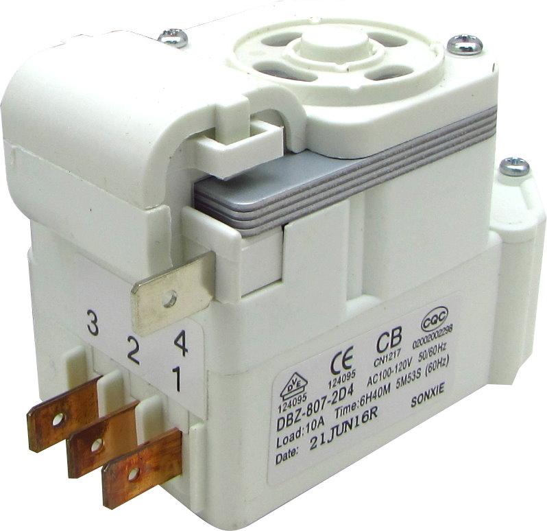 【1-4線圈】DBZ-807-2D4 聲寶 冰箱除霜定時器 化霜器
