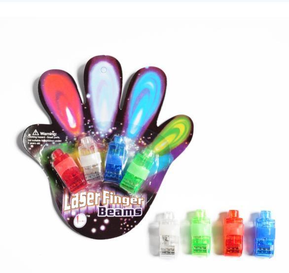 卡裝LED激光燈 動畫投影燈 魔幻手指燈幻影戒指燈彩色