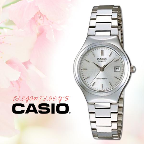 CASIO手錶專賣店CASIO手錶LTP-1170A-7A防水不鏽鋼銀面三折疊錶扣全新