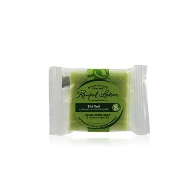 歐巴拉朵 甜杏仁油香皂-綠茶 25g