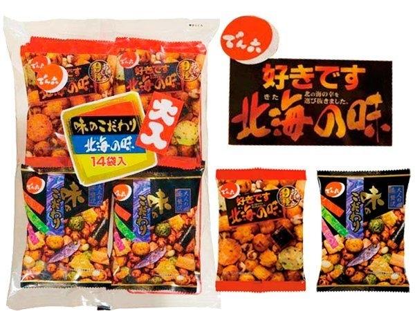 日本禾六北海之味綜合豆果子14袋康熙來了小S最愛日本人氣NO.1豆菓子特價beauty pie