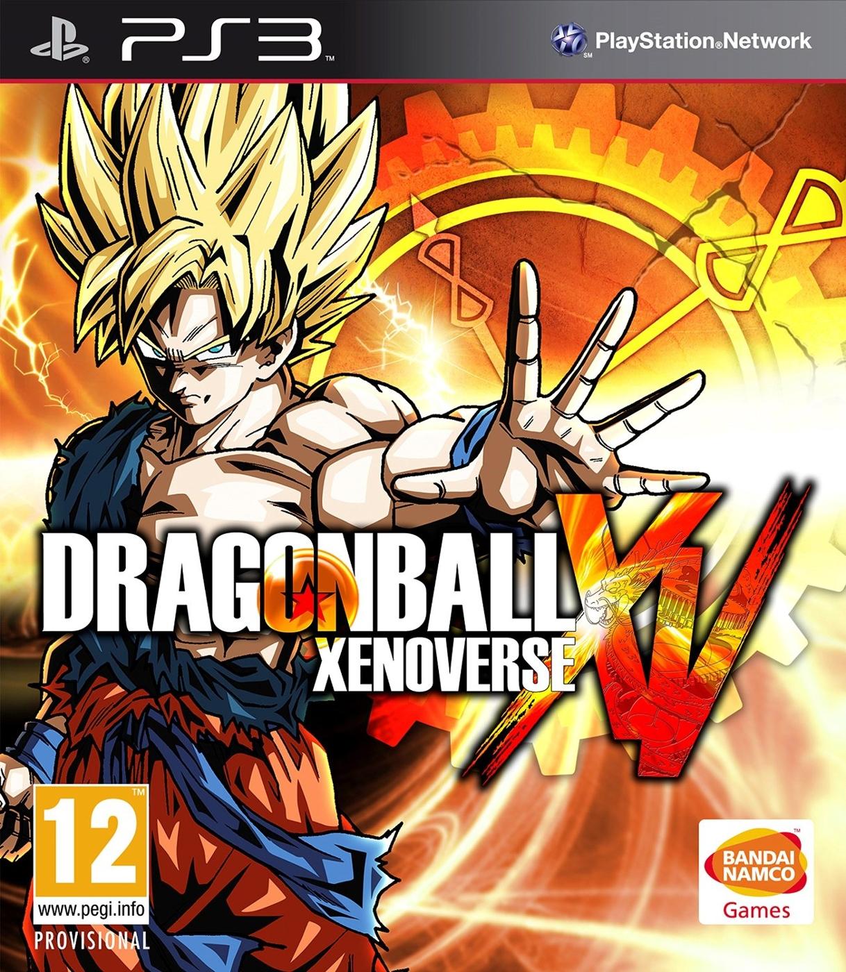 PS3七龍珠XV附4款特典異戰超宇宙-日文英文版-Dragonball Xenoverse