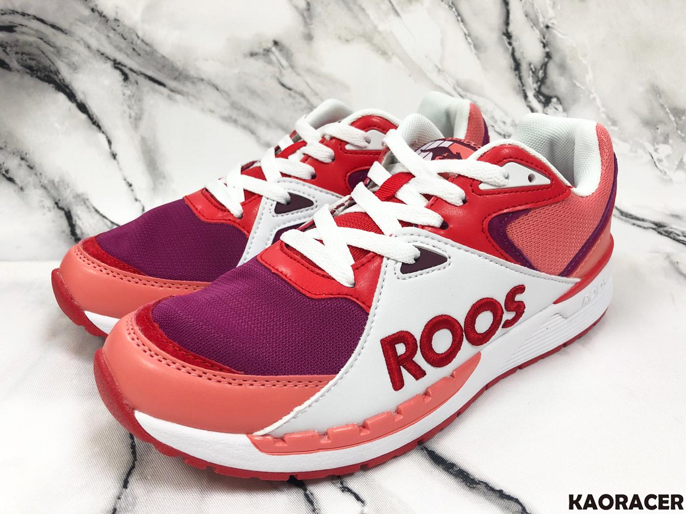 KangaROOS 女款粉紫色運動休閒鞋-NO.KW91072