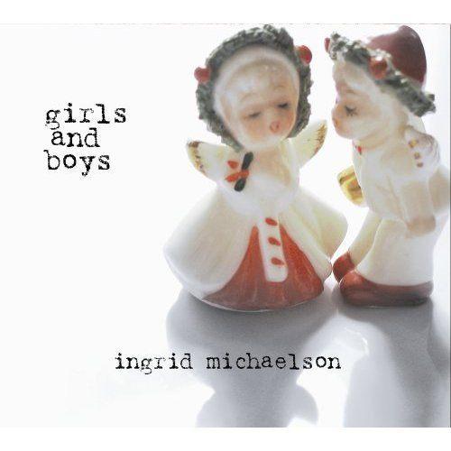 英格麗 女孩與男孩  CD Ingrid Michaelson   (音樂影片購)