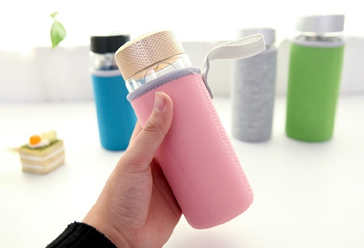 杯套迷你號玻璃杯隔熱套茶杯水杯杯子保溫袋水壺保溫杯保護套