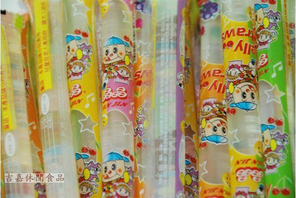 【吉嘉食品】晶晶蒟蒻條~果凍條(素食可) 600公克45元[#600]{RR01}