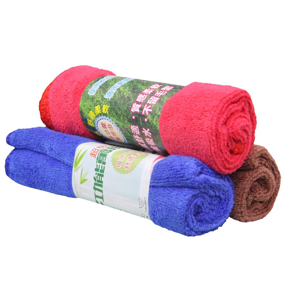 【黑魔法】萬用巾 擦車巾 清潔布 抹布(顏色隨機×6條)