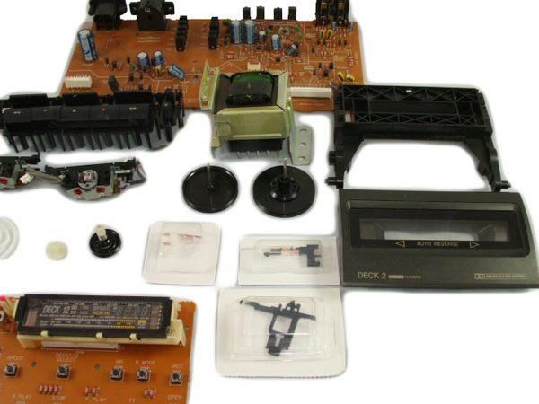 國際牌TECHNICS双卡錄放音座.零件.磁頭.齒輪...(原廠零件)