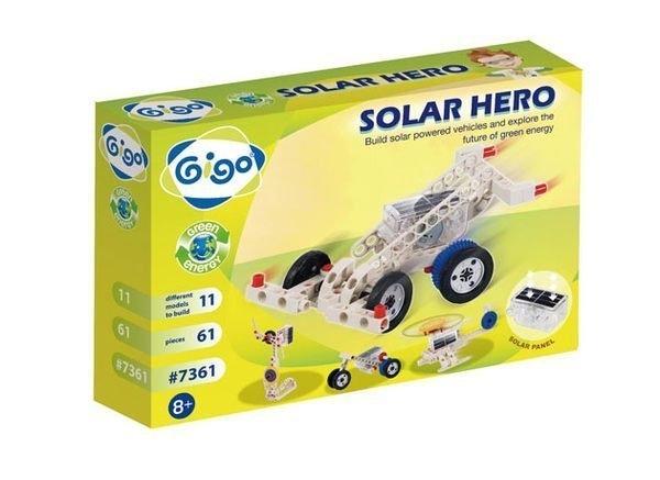 【智高 Gigo】太陽能機械入門組 #7361-CN←益智玩具 你高OK 樂高積木 才藝教室 學校教具