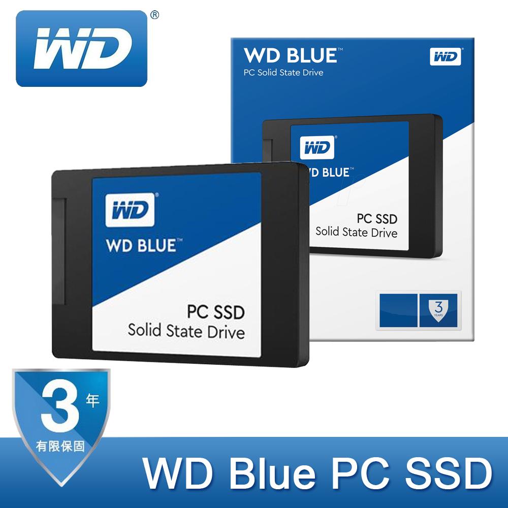 【免運費】WD Blue PC SSD 250GB SATA SSD 固態硬碟 250G / 公司貨 (WDS250G1B0A)