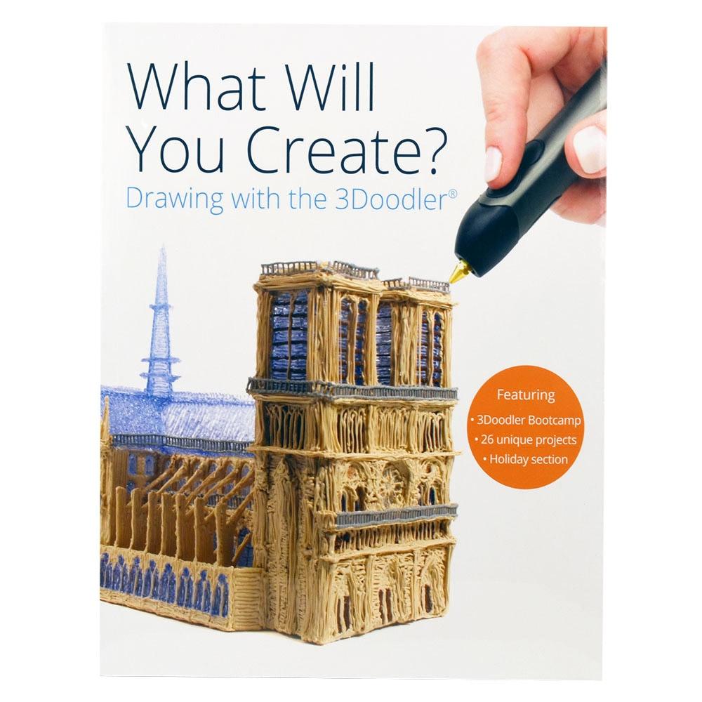 3Doodler Create 3D列印筆3D新手手冊英文