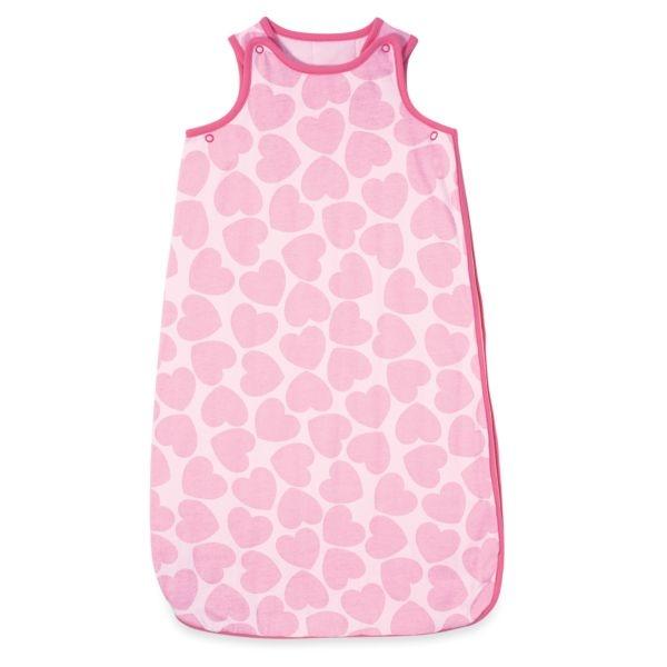 mothercare  18-36個月睡袋2.5T-愛心滿滿、藍色條紋
