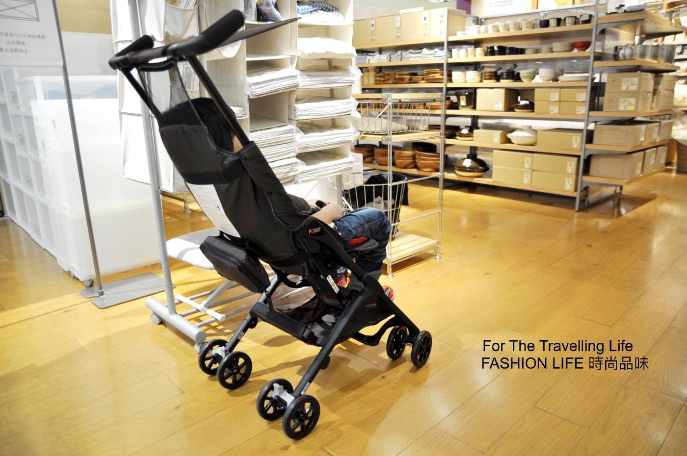 時尚品味嬰兒車出租8天日本口袋型推車POCKIT新生兒時尚推車出租