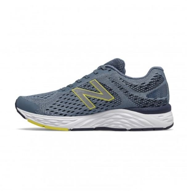 New Balance 男款4E寬楦灰色運動慢跑鞋-NO.M680CC6