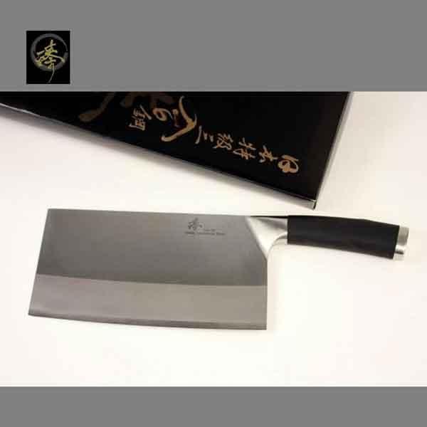 料理刀具三合鋼系列-中式菜刀-大片刀臻高級廚具-SC829-4B