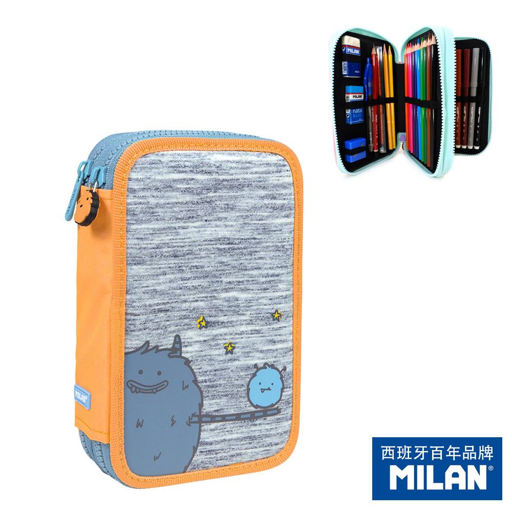 【MILAN】隨行畫筆袋著走_MIMO家族_Papa&Mimo(雙層式)