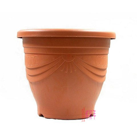 **好幫手生活雜鋪**  歐式花盆 6吋 ------歐式浮雕花盆 花器 盆栽 居家 花藝 塑膠盆