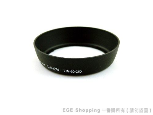 EGE一番購for CANON專業版遮光罩EW-60C EF 28-80mm 28-90mm 18-55mm