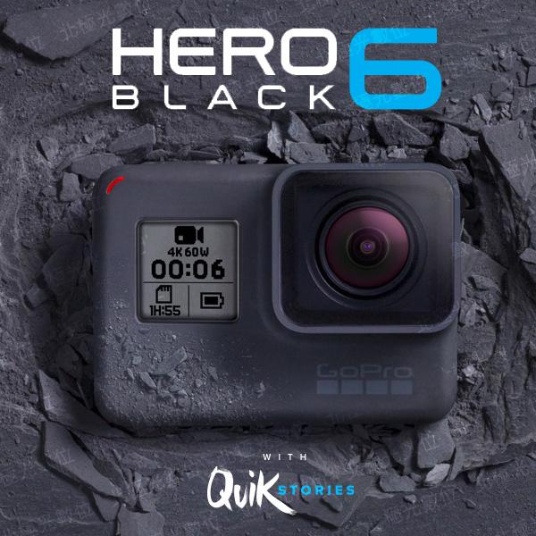 GoPro HERO6 Black專業4K運動攝影機公司貨