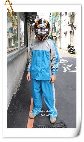 ARAI雨衣,K2,黑藍