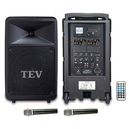 TEV USB/SD雙頻無線擴音機 TA780U-2