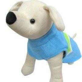 培菓平價寵物網寵物淺水造型衣藍綠2S號