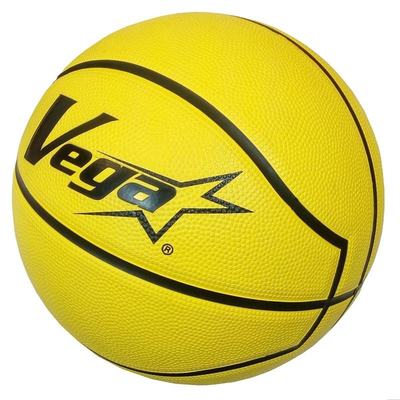 線上體育Vega橡膠籃球7 OBR-737Y黃送網袋護腕送完為止