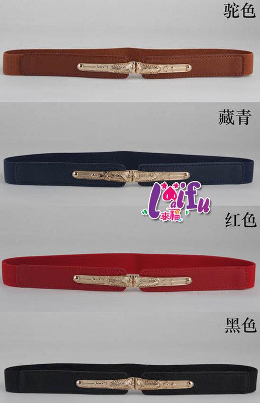 來福皮帶,H530腰帶金色風華腰帶皮帶細腰封,售價180元