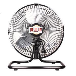 【中彰投電器】雙星牌(10吋)超強風鋁葉桌扇,HY-1002【全館刷卡分期 免運費】