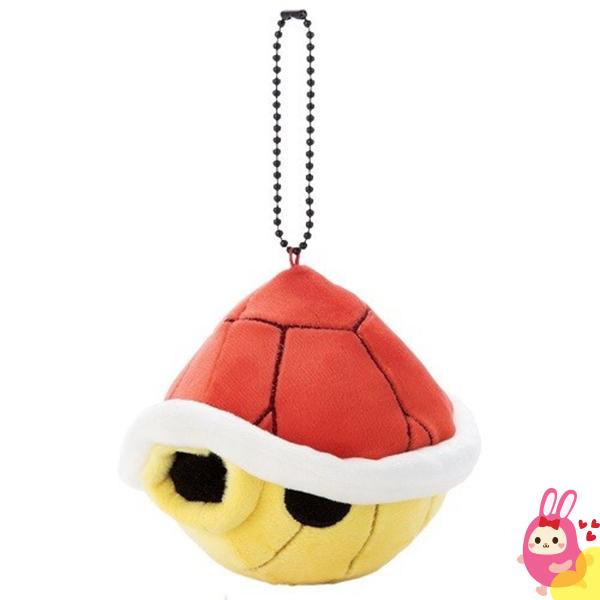 Hamee 日本 超級瑪莉歐賽車 Mocchi-Mocchi 掌上型玩偶 珠鍊吊飾 (烏龜殼) 237-286063