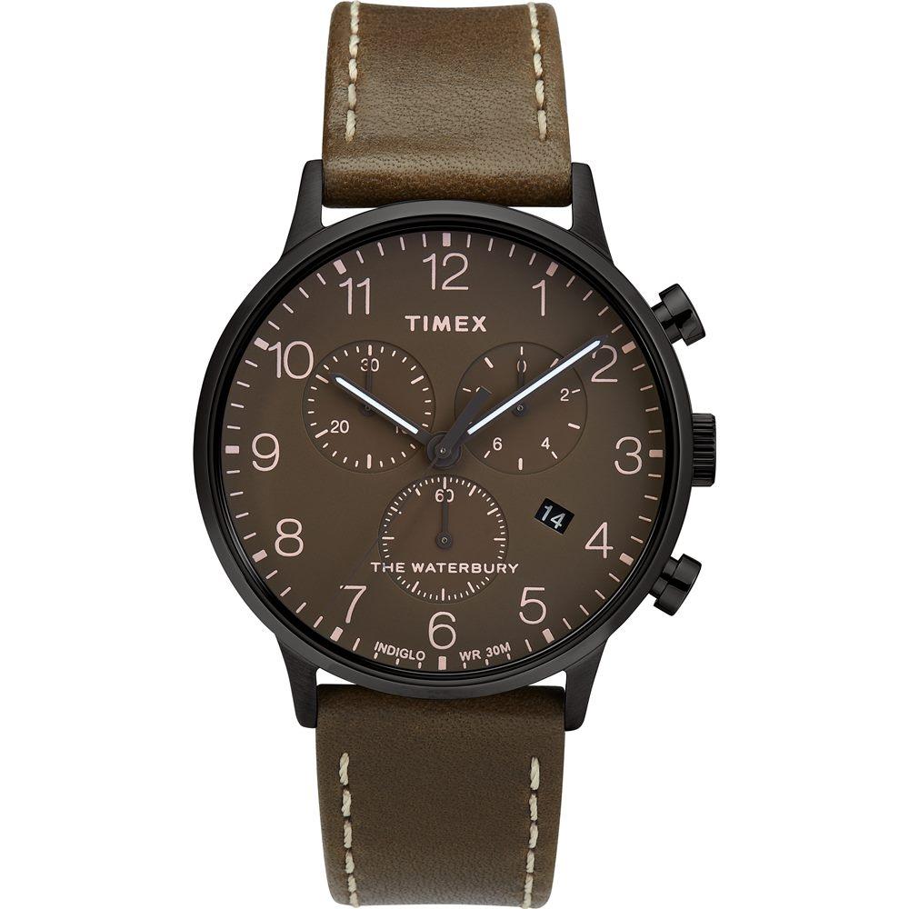 【TIMEX】天美時 復刻系列 經典復古手錶  (橄欖綠TXTW2T27900)