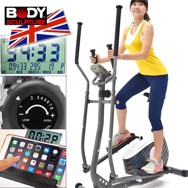 交叉訓練機磁控健身車跑步機划船機滑步機美腿機腳踏車運動健身器材推薦ptt BODY SCULPTURE