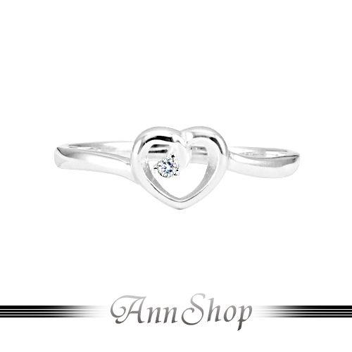 【唯一愛鑽純銀戒指‧925純銀】情人禮物