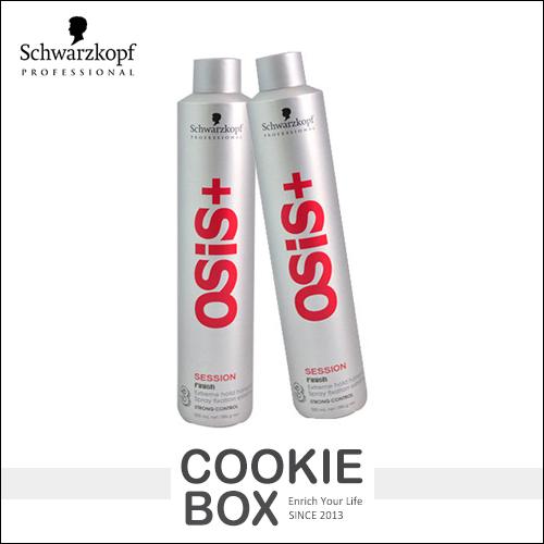 德國Schwarzkopf施華蔻osis黑炫風500ml大罐特強定型噴霧3號頭髮造型熱銷*餅乾盒子