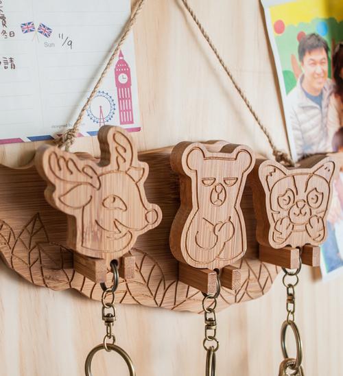 【Sylvia 典藏精品】國寶遊台灣 鑰匙圈/鑰匙掛板(整組) 溫馨親子系列