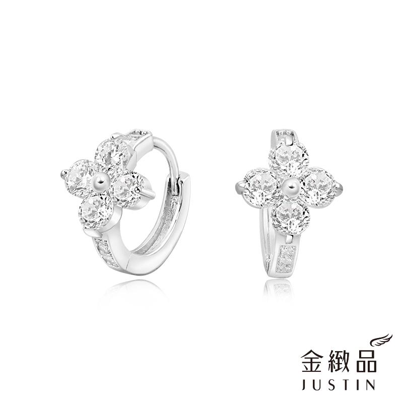 Justin金緻品 朵朵 925純銀耳環 抗過敏 不生鏽 非鍍銀 花朵 精美