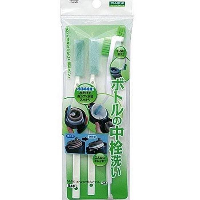 [RARA百貨]日本製 保溫瓶刷 瓶栓間隙刷 縫隙刷 瓶刷 刷子 水瓶刷