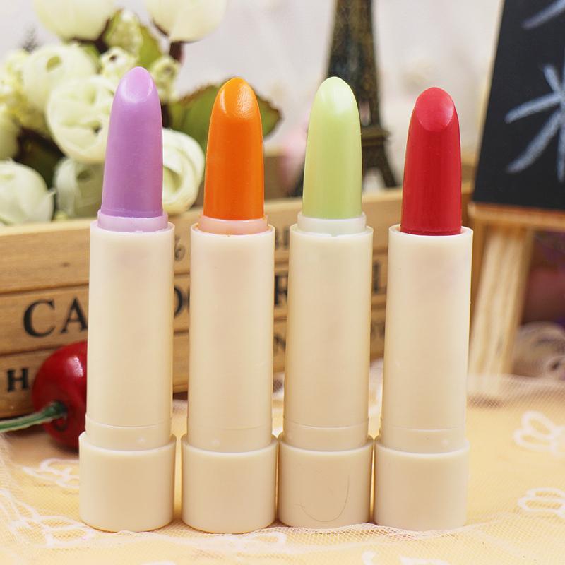【依洛嘉】恆芳水果味變色唇膏/口紅,共四色