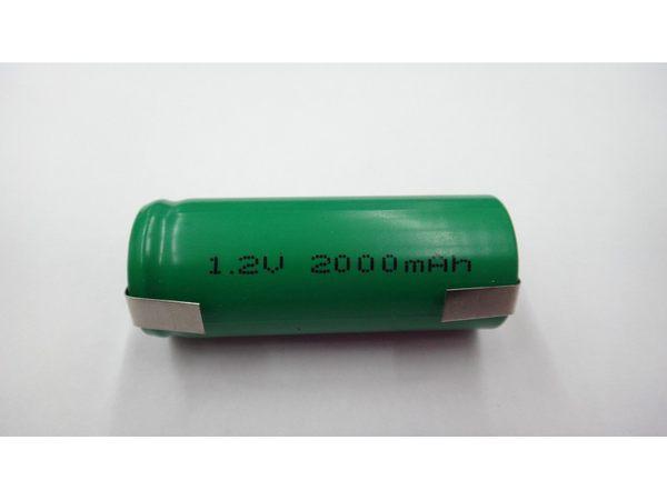 全館免運費【電池天地】鎳氫充電電池 NH4/5A 1.2V 1800mah   工業用電池.特殊電池