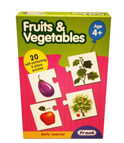 諾貝兒益智玩具Frank全腦開發Fruits Vegetables蔬菜水果