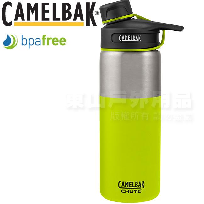 CamelBak 1287307960萊姆600ml Chute運動保溫水瓶