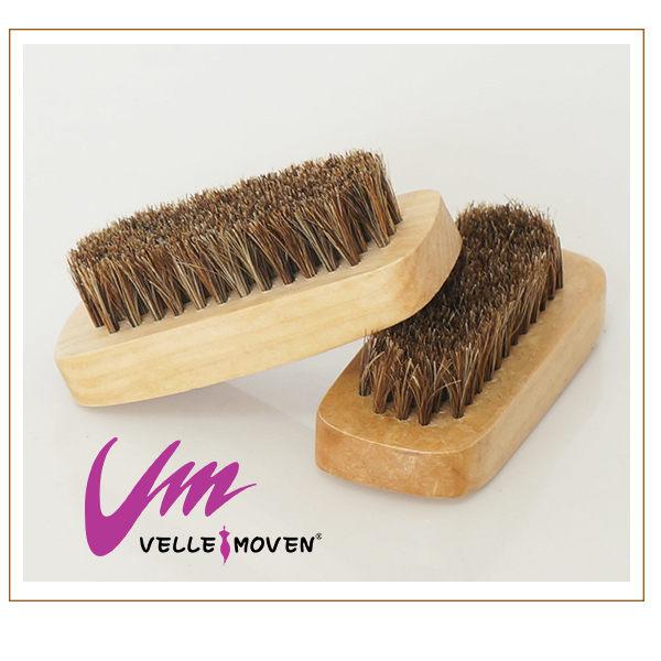 Velle Moven~高級馬毛刷 超優質的馬毛製成 專刷皮製的鞋子不傷皮革 鞋子保養的好幫手