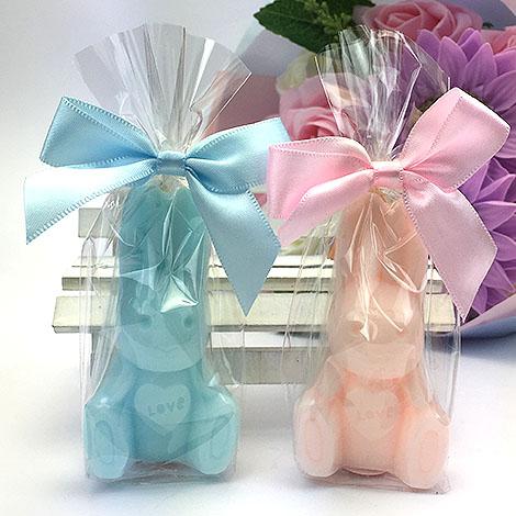 幸福婚禮小物兔子造型手工香皂手工香皂送客禮迎賓禮桌上禮活動小禮物