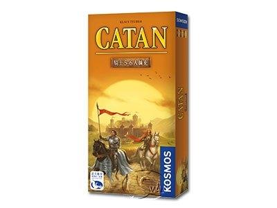 高雄龐奇桌遊卡坦島騎士5-6人擴充Cities Knights 5-6繁體中文版正版桌上遊戲專賣店