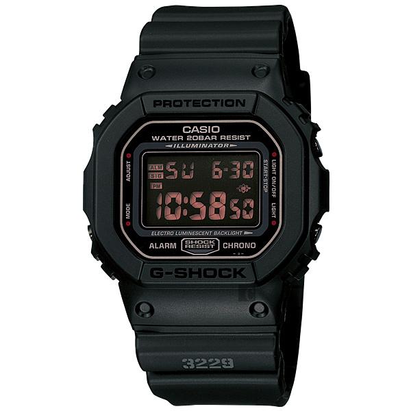 CASIO卡西歐G-SHOCK軍事經典腕錶DW-5600MS-1HDR DW-5600MS-1