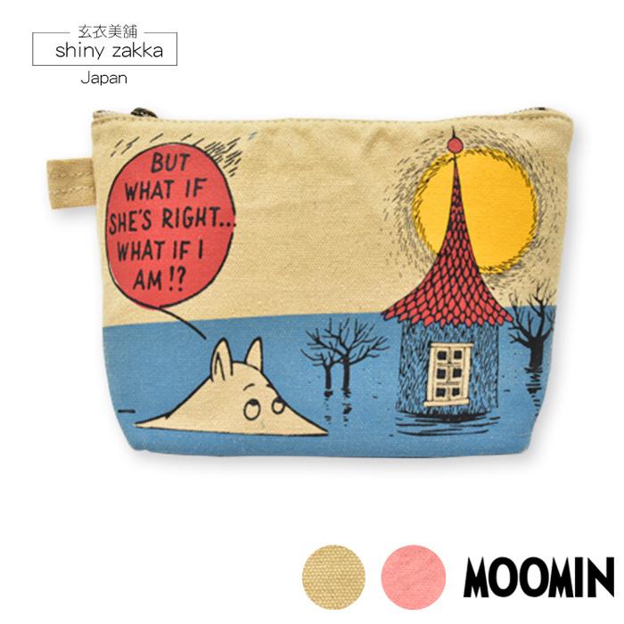收納包-日本嚕嚕米Moomin船型筆袋萬用包-嚕嚕米-玄衣美舖