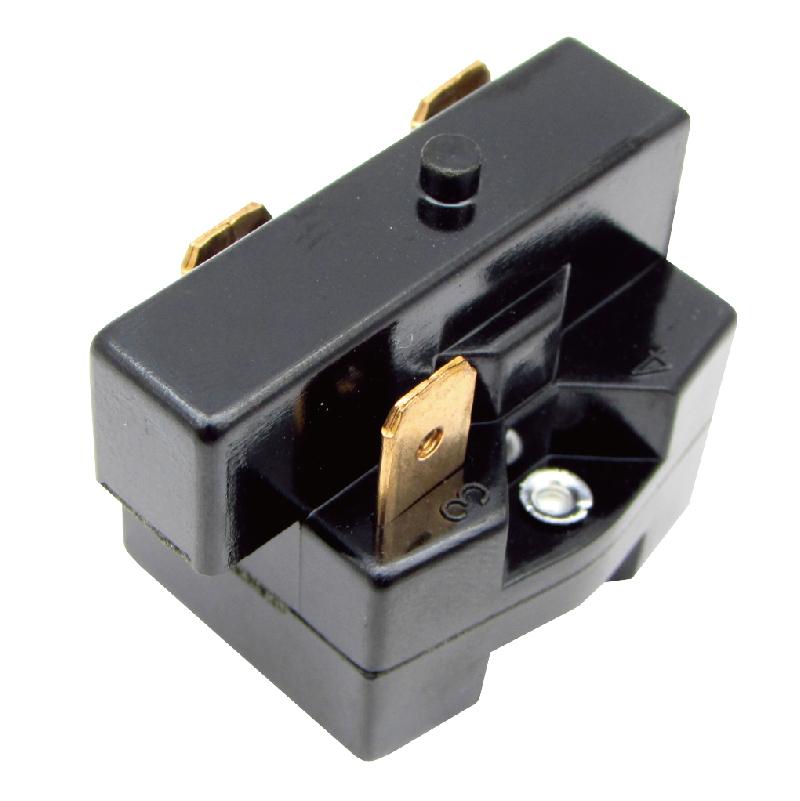 3P墨西哥大黑正對角通1-3通冰箱起動器冰箱啟動繼電器啟動器