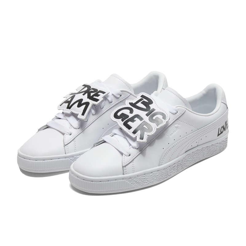 Puma Basket 白色 女款 板鞋 滑板鞋 復古鞋 板鞋 休閒 運動休閒鞋 37019001
