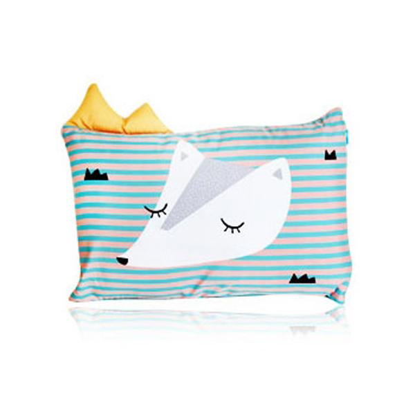 韓國DreamB透氣防蹣護頭型嬰兒枕狐狸~麗兒采家